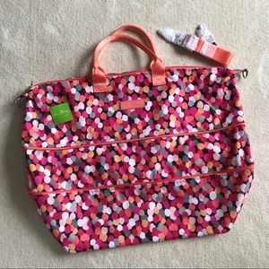 NEW! Vera Bradley Lighten Up Expandable Travel Bag